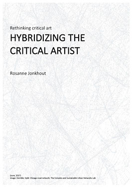 Hybridizing the critical artist essay front page